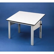 Alvin and Co. DesignMaster Melamine Office Drafting Table by