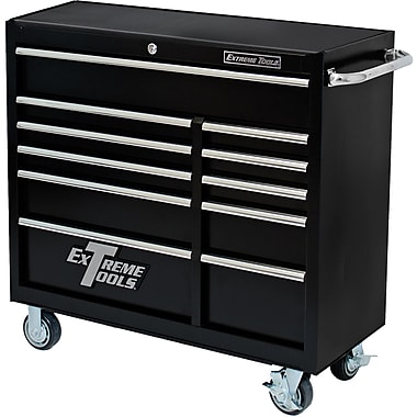 Extreme Tools 41''W 5-Drawer Tool Chest; Textured Black