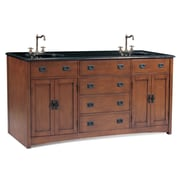 Legion Furniture Ithaca 72'' Double Chest Bathroom Vanity Set