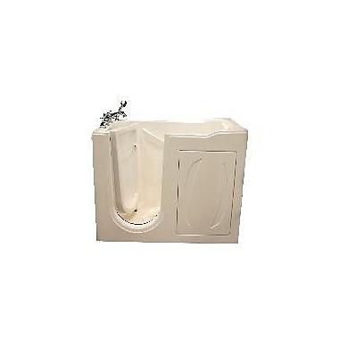 American Acrylic 52'' x 31'' Walk-In Tub; White