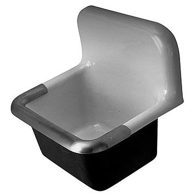 Zurn 24'' x 20'' Single Service Sink; 8'' Centers