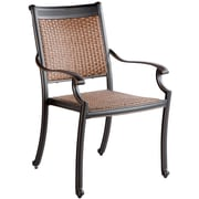 Alfresco Home Pilot Stacking Patio Dining Chair (Set of 2)