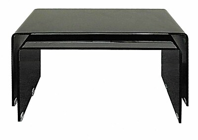Creative Images International Coffee Table (Set of 2); Black