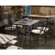 Alfresco Home Gibraltar 5 Piece Gathering Height Dining Set