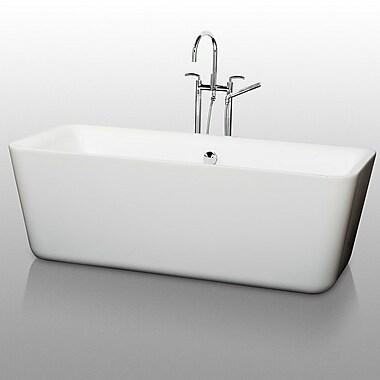 Wyndham Collection Emily 69'' x 30'' Soaking Bathtub