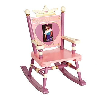 Levels of Discovery Rock A Buddies, Jr. Princess Mini Kids Rocking Chair