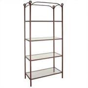 Grace 79'' Standard Bookcase; Jade Teal