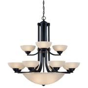 Dolan Designs Fireside 15-Light Shaded Chandelier