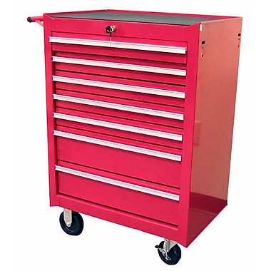 Excel 26.8''W 7-Drawer Tool Chest; Red