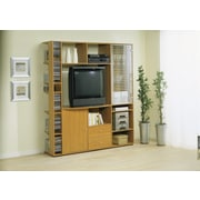 Hokku Designs Entertainment Center; Beech