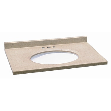 Design House 37'' Solid Surface Vanity Top