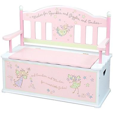 Wildkin Wildkin Kids Fairy Wishes Bench Seat w/ Storage