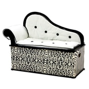 Levels of Discovery Wild Side Kids Chaise Lounge w/ Storage Compartment