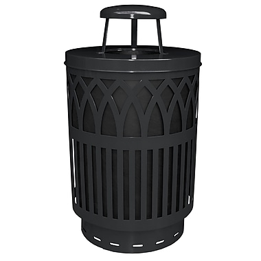 Witt Covington 40 Gallon Trash Can; Black