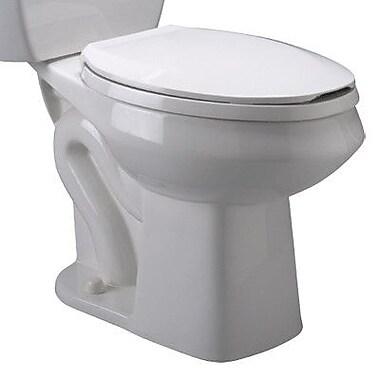Zurn Pressure Assist 1.6 GPF Elongated Toilet Bowl