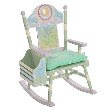 Levels of Discovery Time To Read Wildkin Kids Rocking Chair