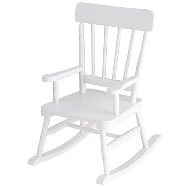 Levels of Discovery Simply Classic Kids Rocking chair; White Finish