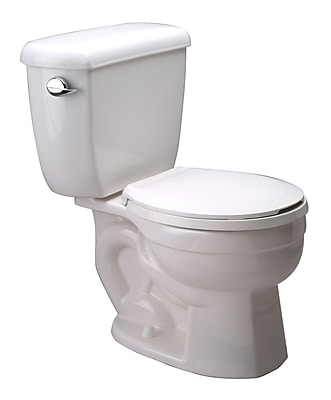Zurn High Performance 1.6 GPF Round Two-Piece Toilet WYF078275611833