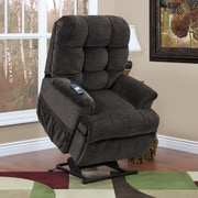 Med-Lift 5555 Series Sleeper / Reclining Lift Chair w/ Extra Magazine Pocket; Cabo - Godiva