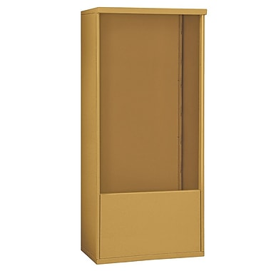 Salsbury Industries 69''H x 32''W x 19''D Free Standing Enclosure; Gold