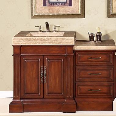 Silkroad Exclusive Stanton 51'' Single Bathroom Vanity Set