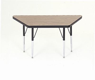 Correll, Inc. 60'' x 30'' Trapezoidal Activity Table