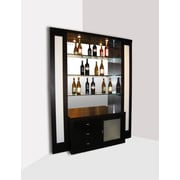 Sharelle Furnishings Elite Corner Back Bar w/ Wine Storage