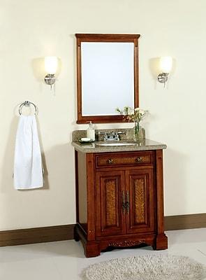 Lanza 28'' Single Bathroom Vanity Set w/ Mirror