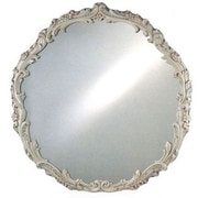 Afina Timeless Traditionals Wall Mirror; Antique Gold