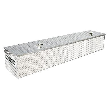 Lund Inc. Full Lid Flush Mount box; Silver