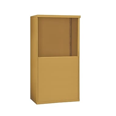 Salsbury Industries 55''H x 32''W x 19''D Free Standing Enclosure; Gold