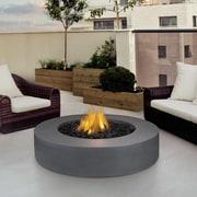 Real Flame Mezzo Propane Fire Pit Table; Flint Gray
