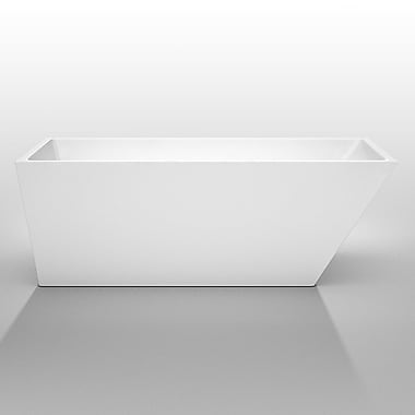 Wyndham Collection Hannah 67'' x 31.5'' Soaking Bathtub