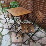 Furniture Designhouse European Caf  Folding Patio Dining Chair (Set of 2)