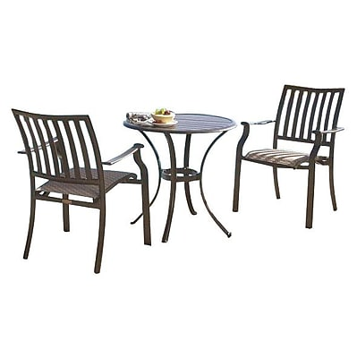 Panama Jack Island Breeze 3 Piece Bistro Set WYF078276503945