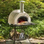 Rustic Cedar Rustic Wood Fired Oven - Plain Front