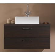 Iotti by Nameeks Aurora 30'' Bathroom Vanity Base; Gray Oak