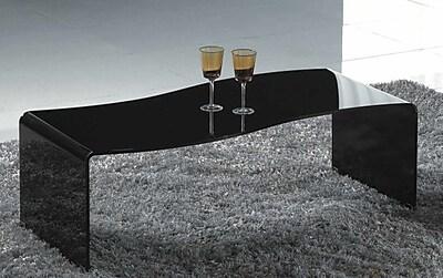 Creative Images International Coffee Table; Black