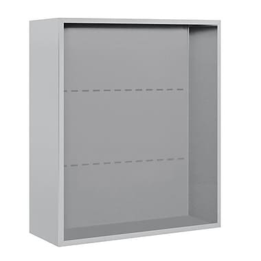 Salsbury Industries 35''H x 32''W 18''D Surface Mounted Enclosure; Aluminum