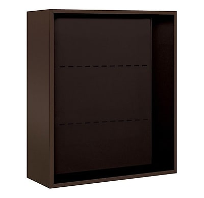 Salsbury Industries 35''H x 32''W 18''D Surface Mounted Enclosure; Bronze