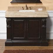 James Martin Furniture Toscano 42'' Single Cherry Bathroom Vanity Set