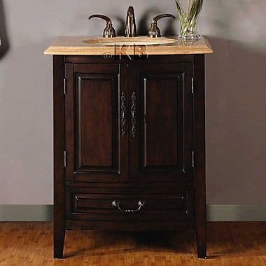 Silkroad Exclusive Evelyn 27'' Single Bathroom Vanity Set
