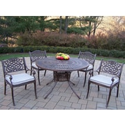 Oakland Living Sunray Mississippi Dining Set w/ Cushions