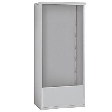 Salsbury Industries 72''H x 32''W x 19''D Free Standing Enclosure; Aluminum