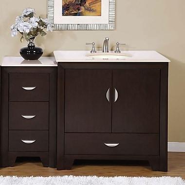 Silkroad Exclusive Ilene 54'' Single Bathroom Vanity Set