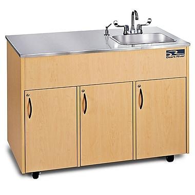Ozark River Portable Sinks Ozark River Portable Sinks Silver Advantage 1D; Maple