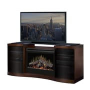 Dimplex Acton TV Stand w/ Electric Fireplace