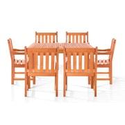 Vifah Esalen 7 Piece Dining Set