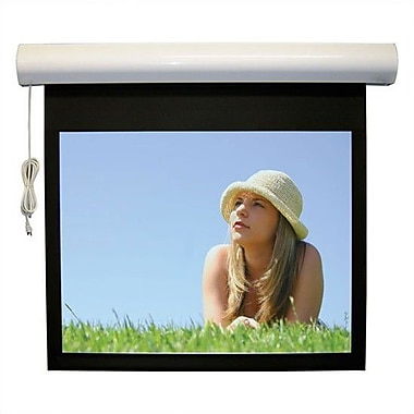 Vutec Lectric I RF Matte Black Electric Projection Screen Low Voltage Motor; 115'' diagonal