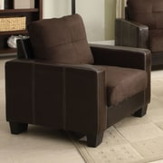 Hokku Designs Townsend Club Chair; Chocolate